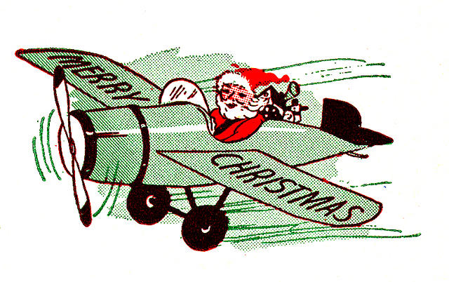 christmas-santa-airplane