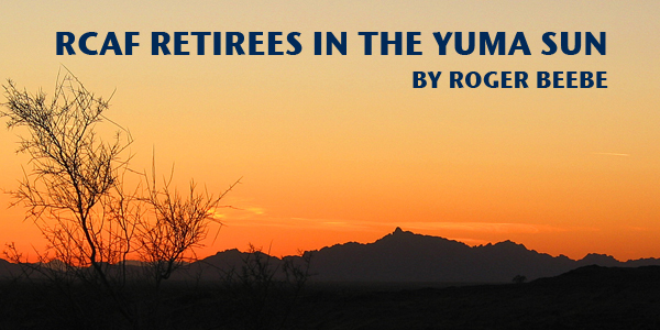 RCAF Retirees in the Yuma Sun