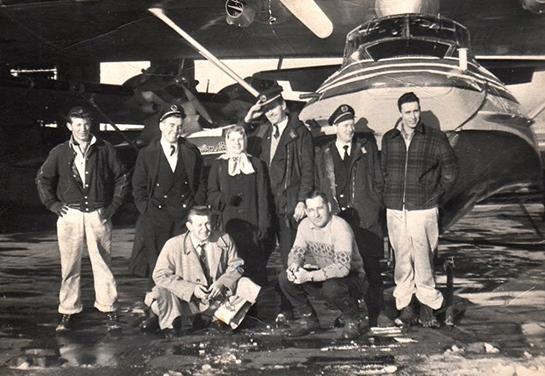 Staff at ypr 1957