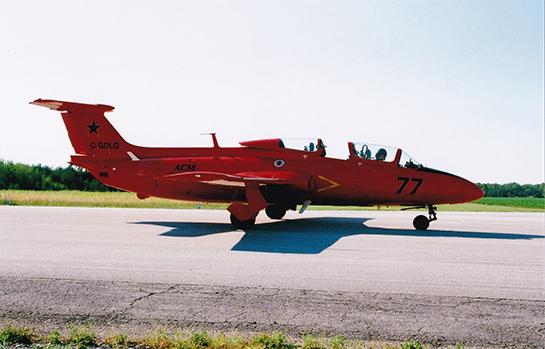 Aero L29 Delfin of the Cold War Museum 545