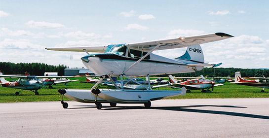 Amphibious Cessna 170 C GFOO 545