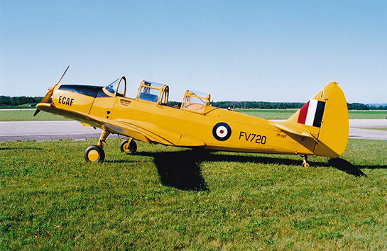 FairchildFleet Cornell of the Edenvale Classic Aircraft Foundation