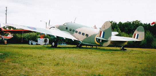 Hudson Mark III at North Atlantic Aviation Museum 545