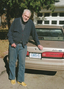 bill personalized cahs licence plate300